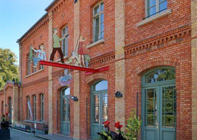 Tour 1: Abgefahren – Kunst im Bahnhof Galerie Teterow
